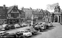 Saffron Walden, Market Square 1959