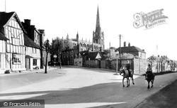 Saffron Walden, Museum Street c.1960