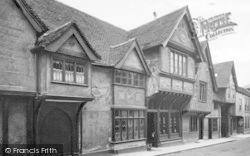 Saffron Walden, Old Houses, Church Street 1907