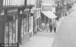 Saffron Walden, Pedestrians In The High Street c.1965