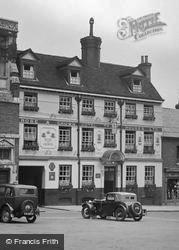 Saffron Walden, Rose & Crown Hotel 1932