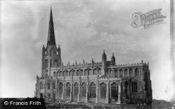 St Mary's Church, South c.1955, Saffron Walden