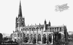 Saffron Walden, St Mary's Parish Church, Looking South c.1960