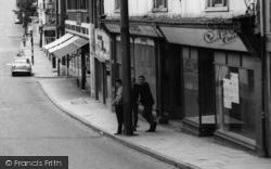 Saffron Walden, Teenage Boys In High Street c.1965