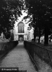 Saffron Walden, The Church 1950