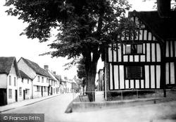 Saffron Walden, The Close, Castle Street 1937