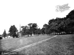 Saffron Walden, The Common 1932