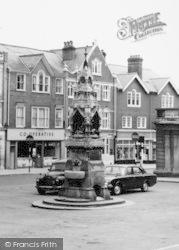 Saffron Walden, The Drinking Fountain c.1965