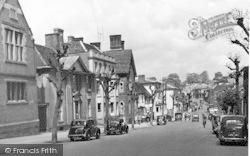 Saffron Walden, The High Street c.1950