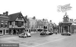 Saffron Walden, The Market Place c.1965