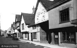 Saffron Walden, The Old Sun Inn 1932