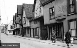The Old Sun Inn 1950, Saffron Walden