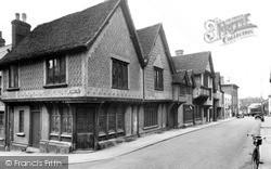 Saffron Walden, The Old Sun Inn c.1955