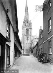 Saffron Walden, The Parish Church Of St Mary c.1955