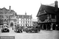 Saffron Walden, The Rose And Crown Hotel 1932