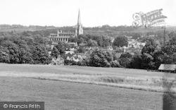 Saffron Walden, View From Golf Course c.1955