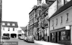 Saffron Walden, View Towards Market Place c.1965