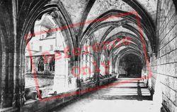 Fontenelle Abbey, Cloisters c.1930, Saint-Wandrille-Rançon