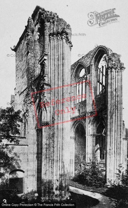 Photo of Saint Wandrille Rançon, Fontenelle Abbey, Nave Side Transept c.1930