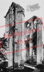 Fontenelle Abbey, Nave Side Transept c.1930 , Saint-Wandrille-Rançon