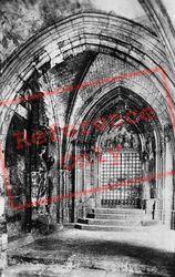 Fontenelle Abbey, Porte De La Vierge c.1930, Saint-Wandrille-Rançon