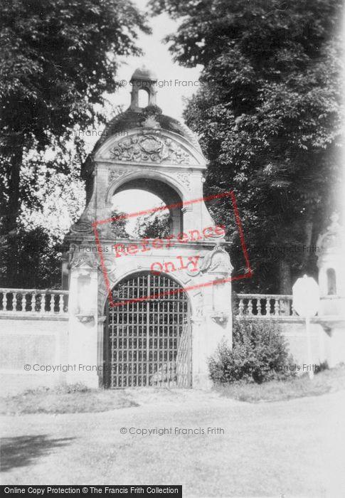 Photo of Saint Wandrille Rançon, Fontenelle Abbey, Porte De Stacpoole c.1930