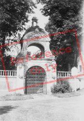 Fontenelle Abbey, Porte De Stacpoole c.1930, Saint-Wandrille-Rançon
