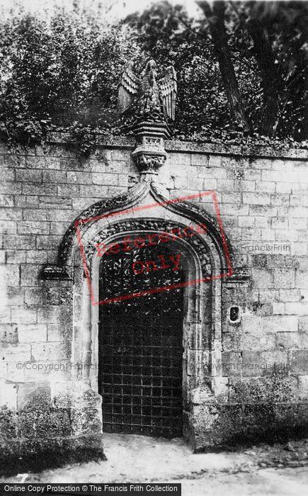 Photo of Saint Wandrille Rançon, Fontenelle Abbey, Porte Du Pélican c.1930