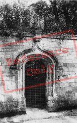 Fontenelle Abbey, Porte Du Pélican c.1930, Saint-Wandrille-Rançon