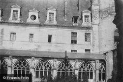 Fontenelle Abbey, Refectory And Gothic Cloisters c.1930, Saint-Wandrille-Rançon