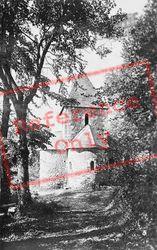 Fontenelle Abbey, Saint-Satunrin Chapel c.1930, Saint-Wandrille-Rançon