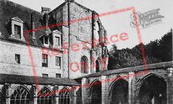 Fontnelle Abbey, Cloisters And Pavillon De La Grâce c.1930, Saint-Wandrille-Rançon