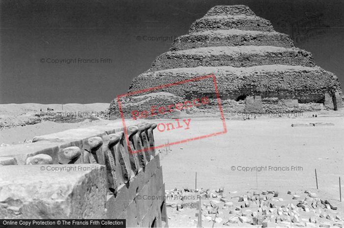 Photo of Sakkarah, (Saqqara) Step Pyramid 2004
