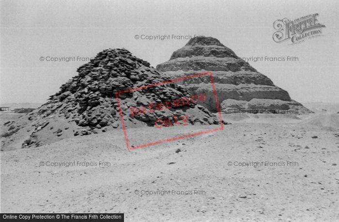 Photo of Sakkarah, Step Pyramid Of Usakhaf 2004