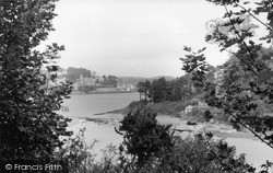 Salcombe, A Pretty View At Mill Bay c.1950