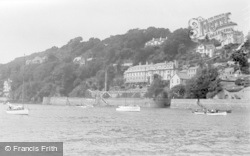 Salcombe, A Waterside View c.1950