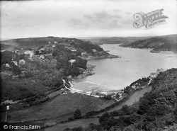 Salcombe, Above South Sands 1920