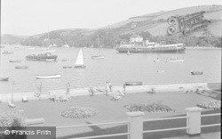 Salcombe, Boat Calling In 1951