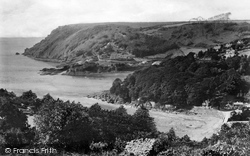 Salcombe, Bolt Head And North Sands 1896