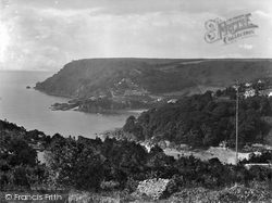 Salcombe, Bolt Head And North Sands 1928
