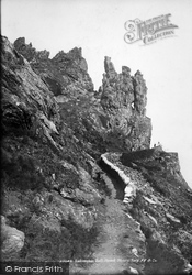 Salcombe, Bolt Head And Sharp Tors 1890