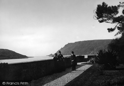 Salcombe, Bolt Head From Marine Hotel Lawn 1890