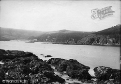 Salcombe, Castle 1890