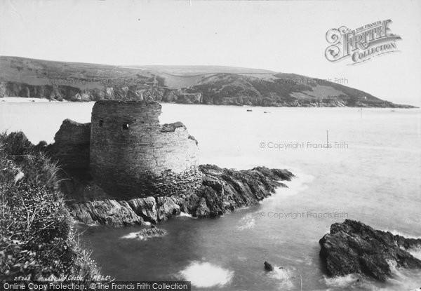 Photo of Salcombe, Castle 1890