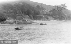 Salcombe, Castle Sands c.1940