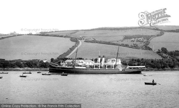 Photo of Salcombe, 'channel Queen' 1896