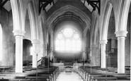 Salcombe, Church interior 1896
