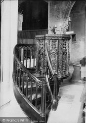 Salcombe, Church Pulpit 1896