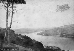 Salcombe, Estuary And Portlemouth 1890