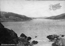 Salcombe, Estuary From Splat Cove 1890